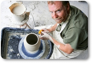 John O'neill, stoneware, cremation urns, pottery, Frederick MD
